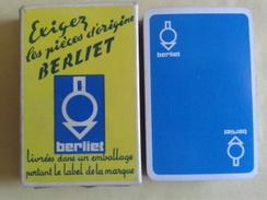BERLIET. Exigez Les Pièces D'origine Berliet. Jeu Usagé De 32 Cartes Dans Sa Boite Carton - Playing Cards (classic)