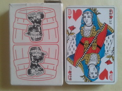 FISHER (bière). Jeu Usagé De 32 Cartes Dans Sa Boite Carton - Playing Cards (classic)