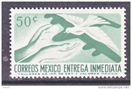 Mexico  E 20   *   FAUNA  DOVE  Wmk. 350   1964 Issue - Mexico