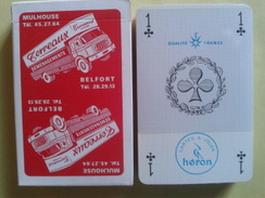 Démenagement Terreaux Mulhouse Belfort. Jeu Neuf  De 32 Cartes Sous Blister Dans Sa Boite Carton - Playing Cards (classic)