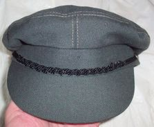 "Cap ""Závodní Stráže"" - Factory Volunteer Corps Of The People's Militia Of Czechoslovakia (1986 Dated) - Headpieces, Headdresses"
