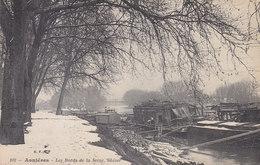 Ph-CPA Asnières (Hauts De Seine) Les Bords De La Seine L'hiver - Asnieres Sur Seine