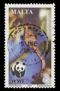 Malta Scott #1071, 6¢ Multicolored (2002) Worldwide Fund For Nature, Used - Malta