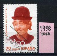 SPAGNA - Year 1998 - Usato - Used - Utilisè - Gebraucht. - 1931-Oggi: 2. Rep. - ... Juan Carlos I