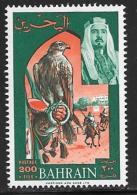 Bahrain, Scott # 150 MNH Falcon, Horse Race, 1966 - Bahrain (1965-...)