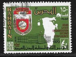 Bahrain, Scott # 172 Used Arab Cities Org., 1970 - Bahrain (1965-...)