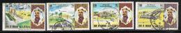 Bahrain, Scott # 196-9 Used National Day , 1973 - Bahrain (1965-...)