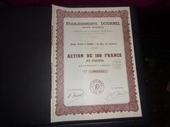 ETABLISSEMENTS DOURNEL Gravure Industrielle (1935) - Shareholdings