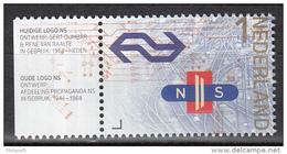 Nederland - 175 Jaar Spoorwegen In Nederland  - Logo's NS  - MNH - NVPH 3227 - Periode 2013-... (Willem-Alexander)