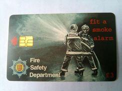 Guernsey 3 Pounds Fire Safety - Firemen