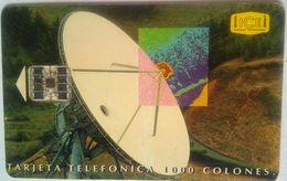 1000  Colones Satellite Dish - Costa Rica