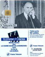 Telefonkarte Frankreich - Werbung - Kino , Cinema - Michel Piccoli  - 50 Units - 03/98 - Frankreich