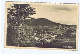 ROMANIA - ANINA / STEIERDORF - RPPC POSTCARD 1938 - STAMPS (2345) - Romania