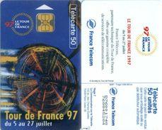 Telefonkarte Frankreich - Werbung - Tour De France 97  - 50 Units - 06/97 - 1997