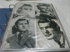 LOTTO 4 CARTOLINE Robert SCOTT JAMES CAGNEY KIRK DOUGLAS JEAN MARAIS CONDIZIONI VEDI IMMAGINE - Actors