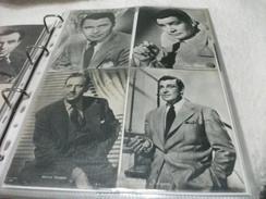 LOTTO 4 CARTOLINE ARTISTI CONDIZIONI VEDI IMMAGINE LARRY SULLIVAN GENE BARRY MELYN DOUGLAS WALTER PIDGEON - Actors