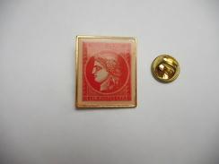 Superbe Pin's , Philatélie  , Cérés  , Collection Timbre , La Poste - Post