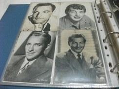 LOTTO 4 CARTOLINE ARTISTI CONDIZIONI VEDI IMMAGINE GENE KELLY DEAN MARTIN BING CROSBY DANNY KAYE - Actors