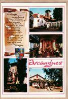 X640524 ARCANGUES Légende Auberge ACHTAL Presbytere Eglise 4 Vues Pays BASQUE Euskadi CAP THEOJAC 1036 - France