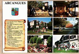 X640521 ARCANGUES ARRANGOITZE En BASQUE Multivues Histoire Village Euskadi Pyrénées Atlantiques - RAMEAUX - France