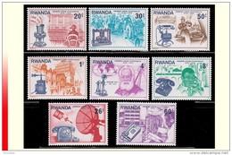 Rwanda 0745/52** Télécom  MNH - Rwanda