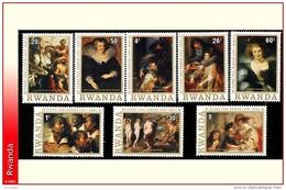 Rwanda 0821/28**  Rubens  MNH - Rwanda