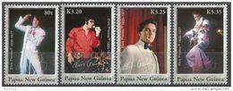 Papua New Guinea 2006 Sc. 1235 Elvis Presley Rock And Roll Rockabilly Serie Completa Nuova MNH - Elvis Presley