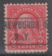 USA Precancel Vorausentwertung Preo, Locals New York, Newburgh 634-466 - Vereinigte Staaten