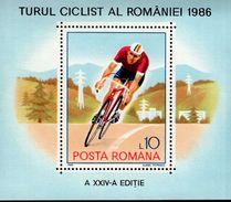 Rumänien Block 229 Rumänienrundfahrt MNH  Postfrisch ** - Hojas Bloque