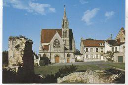 CREPY EN VALOIS RUINES DU CHATEAU  ET CHAPELLE SAINT AUBIN - Crepy En Valois
