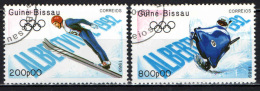 GUINEA BISSAU - 1989 - OLIMPIADI INVERNALI DI ALBERTVILLE - USATI - Guinea-Bissau