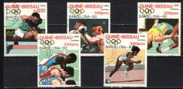 GUINEA BISSAU - 1989 - OLIMPIADI ESTIVE DI BARCELLONA - USATI - Guinea-Bissau