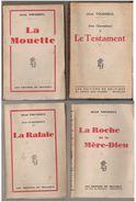 Lot Jean Tousseul - Lots De Plusieurs Livres