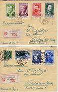 Frankreich/France, 1958 Mi 1202-1207 + 1192 Auf Brief [251217KIV] - Frankreich