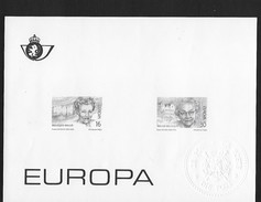 Europa  Feuillet - Black-and-white Panes