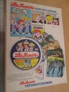 Page De Revue Des Années 60/70 : PUBLICITE FROMAGE LES JUNIORS AUTOCOLLANTS, Dimension Page  A4 - Stickers
