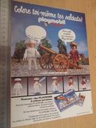 Page De Revue Des Années 60/70 : PUBLICITE PLAYMOBIL , Dimension Page  A4 - Playmobil