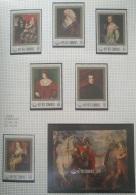P7 Paintings - Comoro Islands 1978 Yv. 233-7+149AM+BF20 MNH Cplete Set 6v. + Minisheet - 400th Anniv Of Rubens - Comoros
