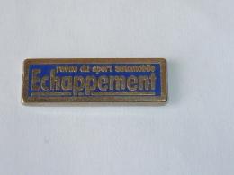 Pin's ECHAPPEMENT, REVUE DU SPORT AUTO - Unclassified