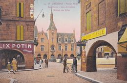 Libourne, Place Abel Surchamp, Les Arcades, L'hôtel De Ville - Libourne