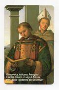 Vaticano - Urmet - Perugino - Santi Lorenzo E Luigi Di Tolosa - Nuova - Validità 1.1.2005 -  Golden 105 - (FDC7089) - Vatican