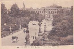 Strasbourg, L'université Et Le Pont - Strasbourg