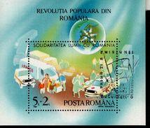 Rumänien Block 263 Volksaufstand Gestempelt Used - Hojas Bloque