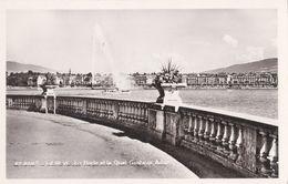 Genève, La Rade Et Le Quai Gustave Ador - GE Genève