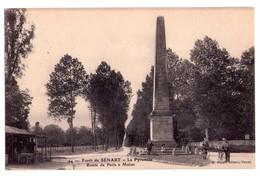 0073 - Brunoy - Forêt De Sénart - La Pyramide , Route De Paris à Melun - M.Mulard édit - N°44 - Brunoy