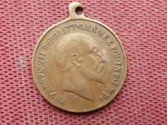 ROYAUME UNI   Médaille EDOUARD VII 1907 - Royal/Of Nobility