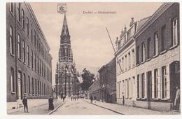 Duffel: Statiestraat. (Erster Weltkrieg,1915) - Duffel