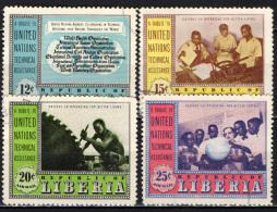 LIBERIA - 1954 - NAZIONI UNITE - COOPERAZIONE TECNICA - USATI - Liberia