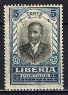 LIBERIA - 1921 - PRESIDENTE DANIE E. HOWARD - USATO - Liberia