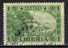 LIBERIA - 1921 - CAPO MESURADO - USATO - Liberia